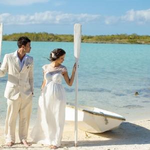 Well Read Rustic Wedding Styled Shoot Beach Boat Oars