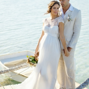 Well Read Rustic Wedding Styled Shoot Rowboat Dock