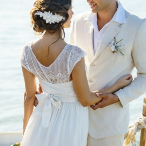 Well Read Rustic Wedding Styled Shoot Newlyweds