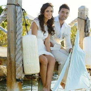 Well Read Rustic Wedding Styled Shoot Dock
