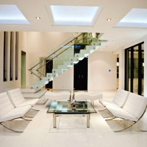 Windemere Modern Living Room Night