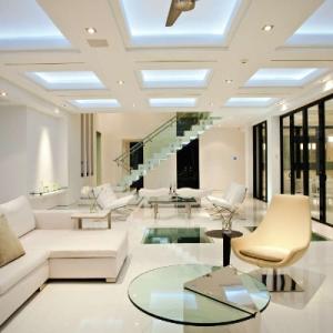 Windemere Modern Living Room