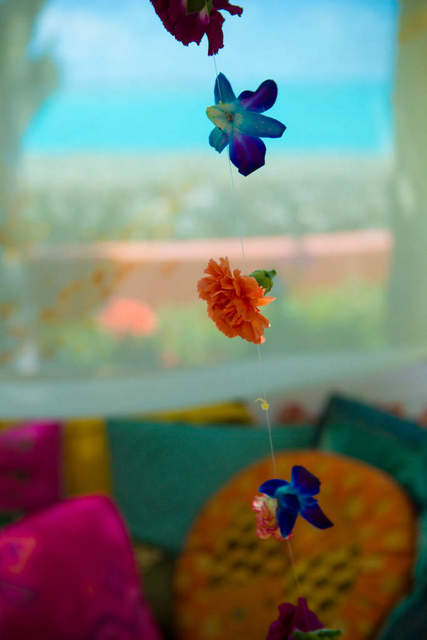 Bajacu Bohemian Indian inspired flower strands