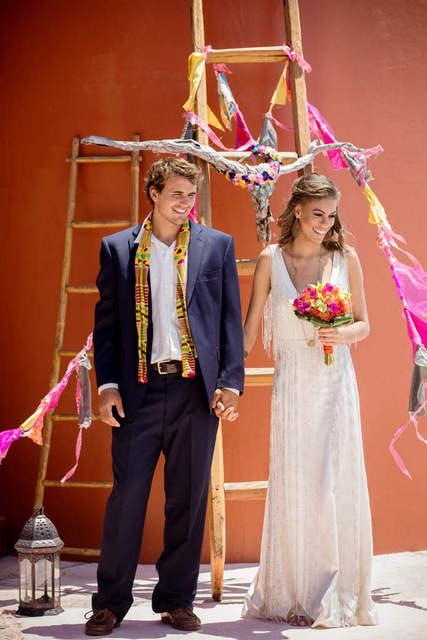 Bajacu Bohemian gypsy style Ceremony