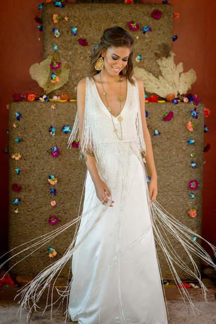 Bajacu Bohemian great Gatsby-esque gown