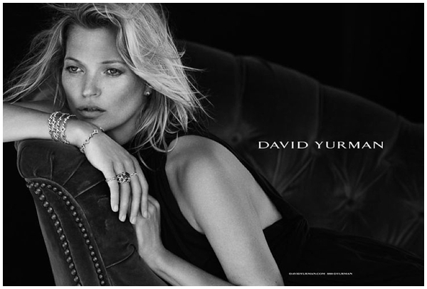 David Yurman Kate Moss Turks and Caicos shoot