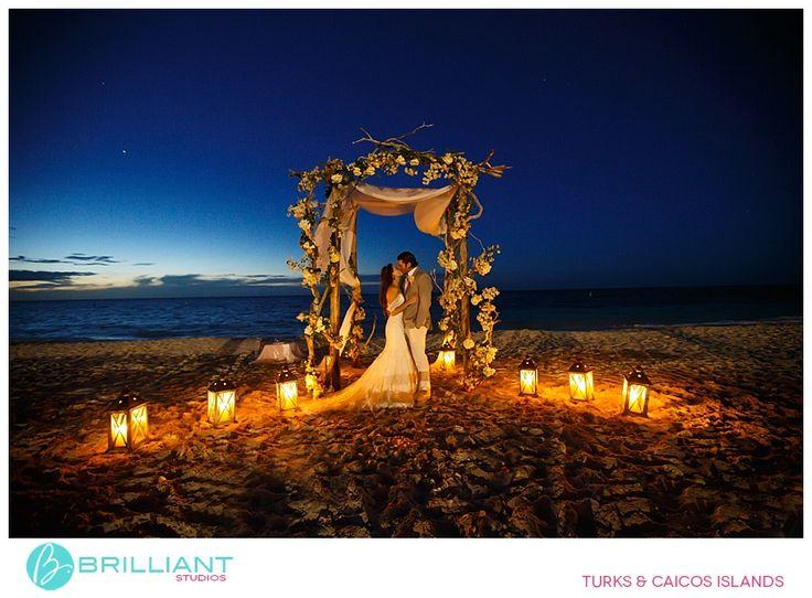 lantern lit arch