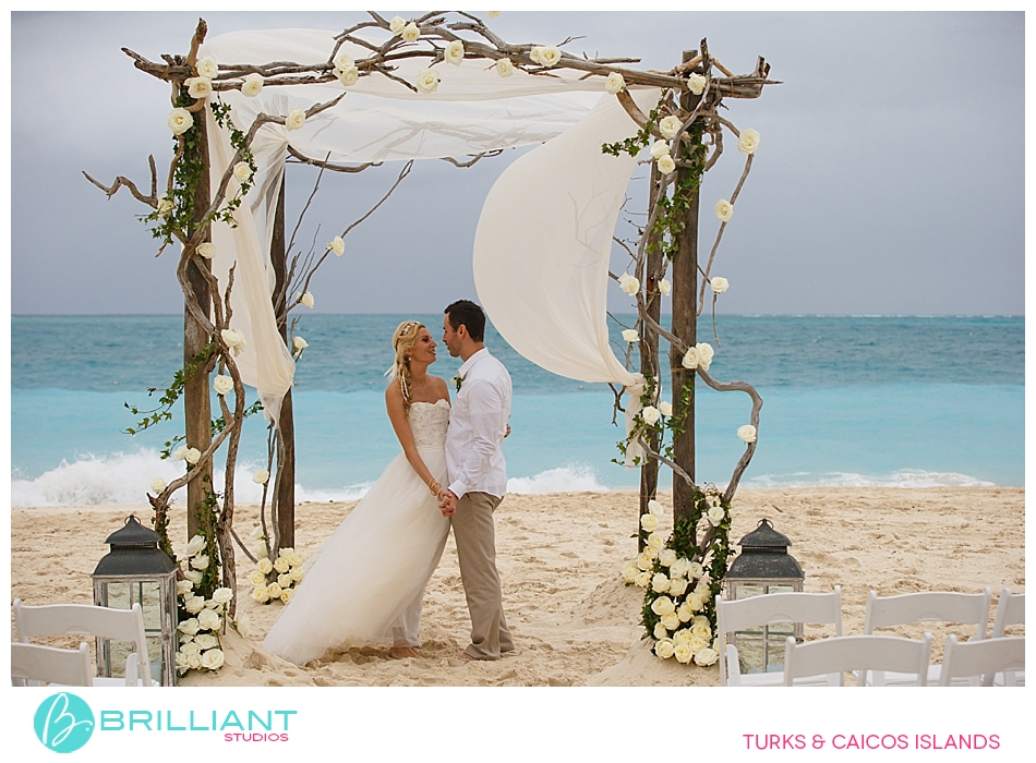 Brilliant Studios Nov 16 wedding  at Grace Bay Club