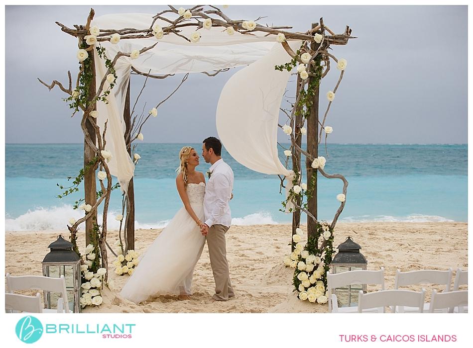 Brilliant Studios Nov 16 wedding  at Grace Bay Club