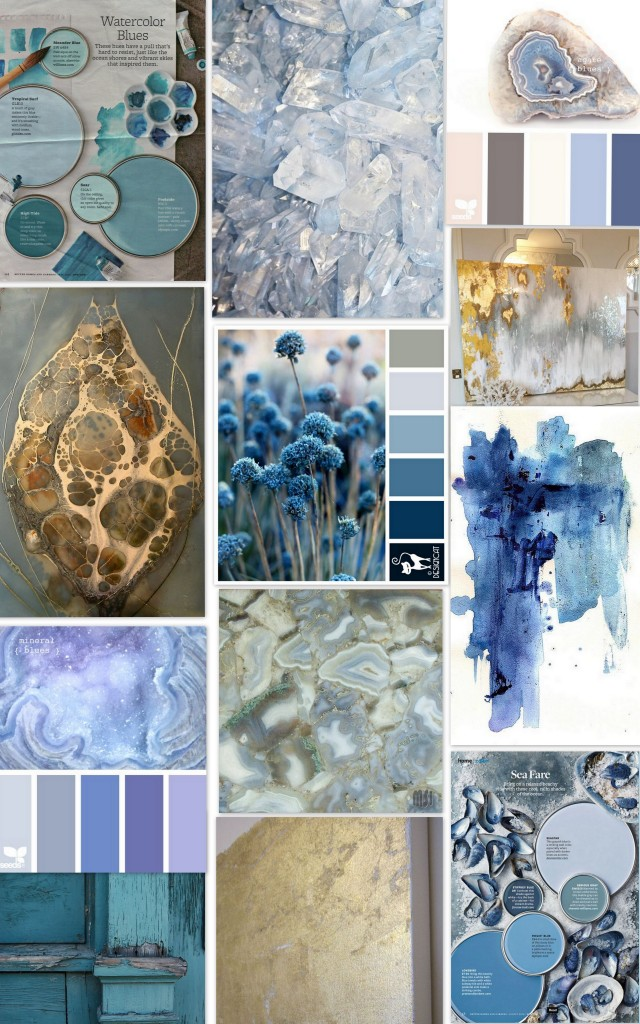 Periwinkle Painting inspiration board